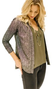 Veronica M Sparkle Holiday Jacket Cardigan