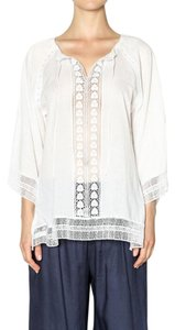 ravel Embroidered 3/4 Sleeve Tunic