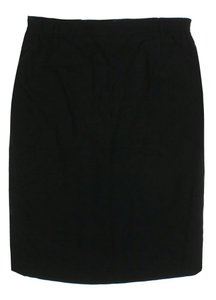 Givenchy Wool Skirt Black