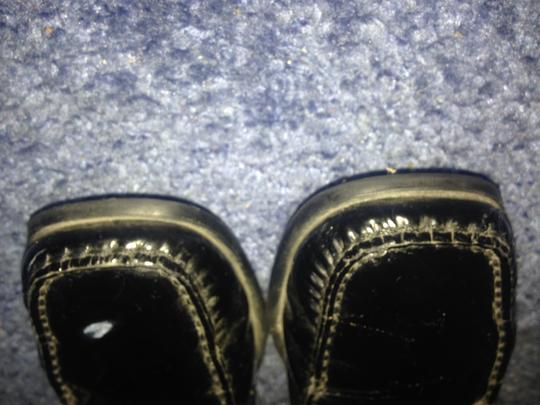 Tod's Driving Mocs Black patent leather Flats Image 8