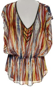 Needle & Thread Striped Embellished Tunic