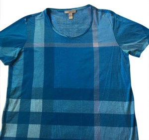 Burberry Brit T Shirt aqua blue