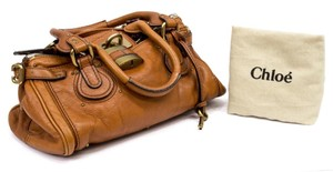 Chloé Chloe Paddington Chloe Parati Celine Nano Chloe Betty Satchel in Cognac Brown