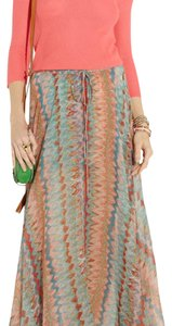 Haute Hippie Maxi Skirt Multi