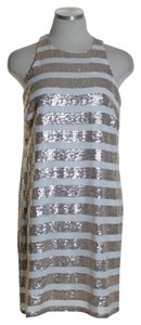 Bar III Sequin Sleeveless Cocktail Dress