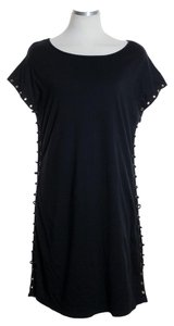 Guess short dress Black Knit Cap Sleeve on Tradesy
