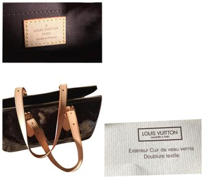 Louis Vuitton Tags Dust Satchel in Rosewood