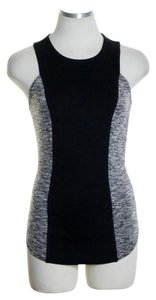 Rachel Roy Top Black Gray