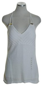 Guess Sleeveless Knit Top Ivory