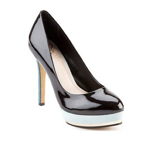 Vince Camuto Dacoma Black/Blue Pumps