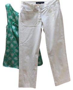 French Connection Capri/Cropped Pants white