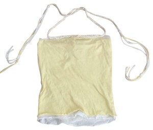 American Rag yellow Halter Top
