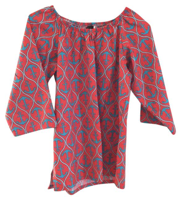 Preload https://item4.tradesy.com/images/hale-bob-red-and-turquoise-tunic-size-4-s-20801768-0-1.jpg?width=400&height=650
