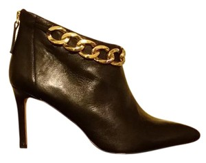 Nine West Pointed Toe Genuine Leather Black Boots