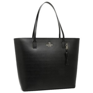 Kate Spade Leather Basic Tote in Black