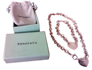 Tiffany & Co. Gorgeous Tiffany Necklace and Bracelet set 15.5