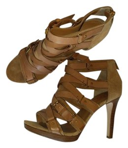 Michael Kors Light Brown Suede Accent Formal