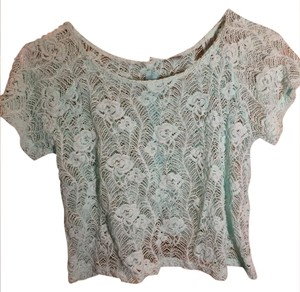 Poof! Apparel Top Mint green