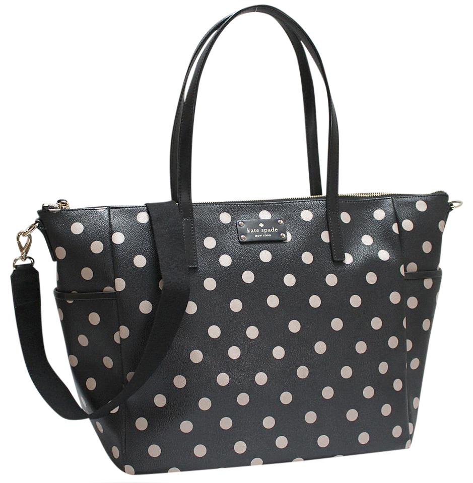 Kate spade wellesley printed adiara black dcobge grainy vinyl kate spade wellesley printed adiara black dcobge grainy vinyl diaper bag tradesy junglespirit
