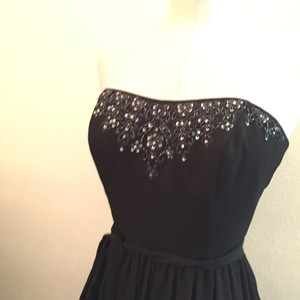 David's Bridal Black F15115 Dress