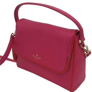 Kate Spade Crossbody Pink Leather Shoulder Bag