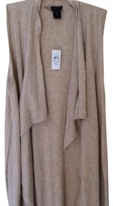 Ann Taylor Draped Open Cardigan
