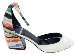 Pierre Hardy white / multi Sandals