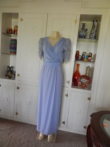 Miss Elliette Blue 1973 Dress