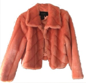 Terry Lewis Classic Luxuries peach color Jacket