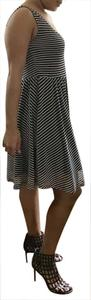 Hot Topic short dress Black and white striped on Tradesy