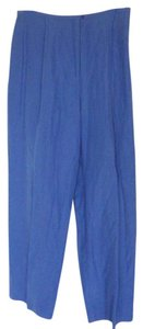 Style & Co Linensilksize14 Relaxed Pants Blue