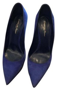 Gianvito Rossi Cobalt Blue Pumps