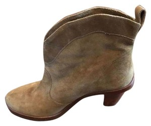 Robert Clergerie suede light brown Boots