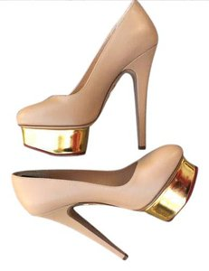 Charlotte Olympia Nude Platforms
