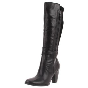 Clarks Black Leather & Suede Boots