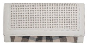 Burberry Burberry White Studded Wallet