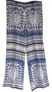 Philosophy di Alberta Ferretti Wide Leg Pants blue multi