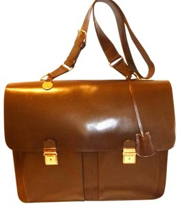 Dooney & Bourke Brown Messenger Bag