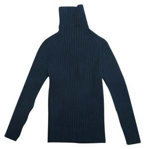 Gap Cotton Ribbed Turtleneck Sweater