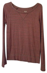 Mossimo Supply Co. Soft Stripe Boat Neck Long Sleeve Tunic