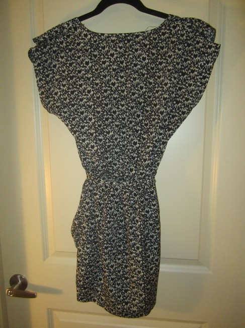 Tinley Road short dress Black and White Print on Tradesy