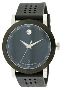 Movado Movado Museum Sport Rubber Mens Watch 0606507 [606507]