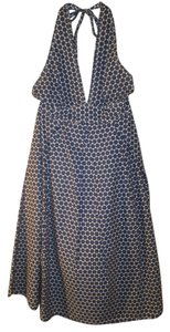 J.Crew short dress Blue and White Polka Dot on Tradesy