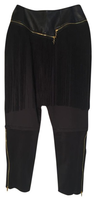 Item - Black | Next Day Shipping | Bombshell Fringe Pants Size 8 (M, 29, 30)