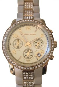 Michael Kors Michael Kors watch white band