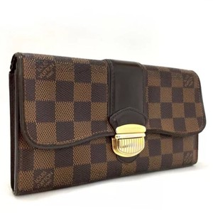 Louis Vuitton Louis Vuitton Damier Portefeiulle Sistina Long Bifold Wallet