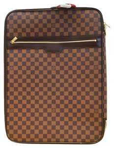 Louis Vuitton Lv 55 Damier Travel Rolling Luggage Travel Bag