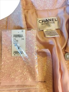 Chanel Boucle Vintage Vintage With Tags pink Jacket