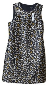 J.Crew short dress Leopard Tall Fun Short on Tradesy