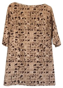 Marc Jacobs short dress brown and tan on Tradesy
